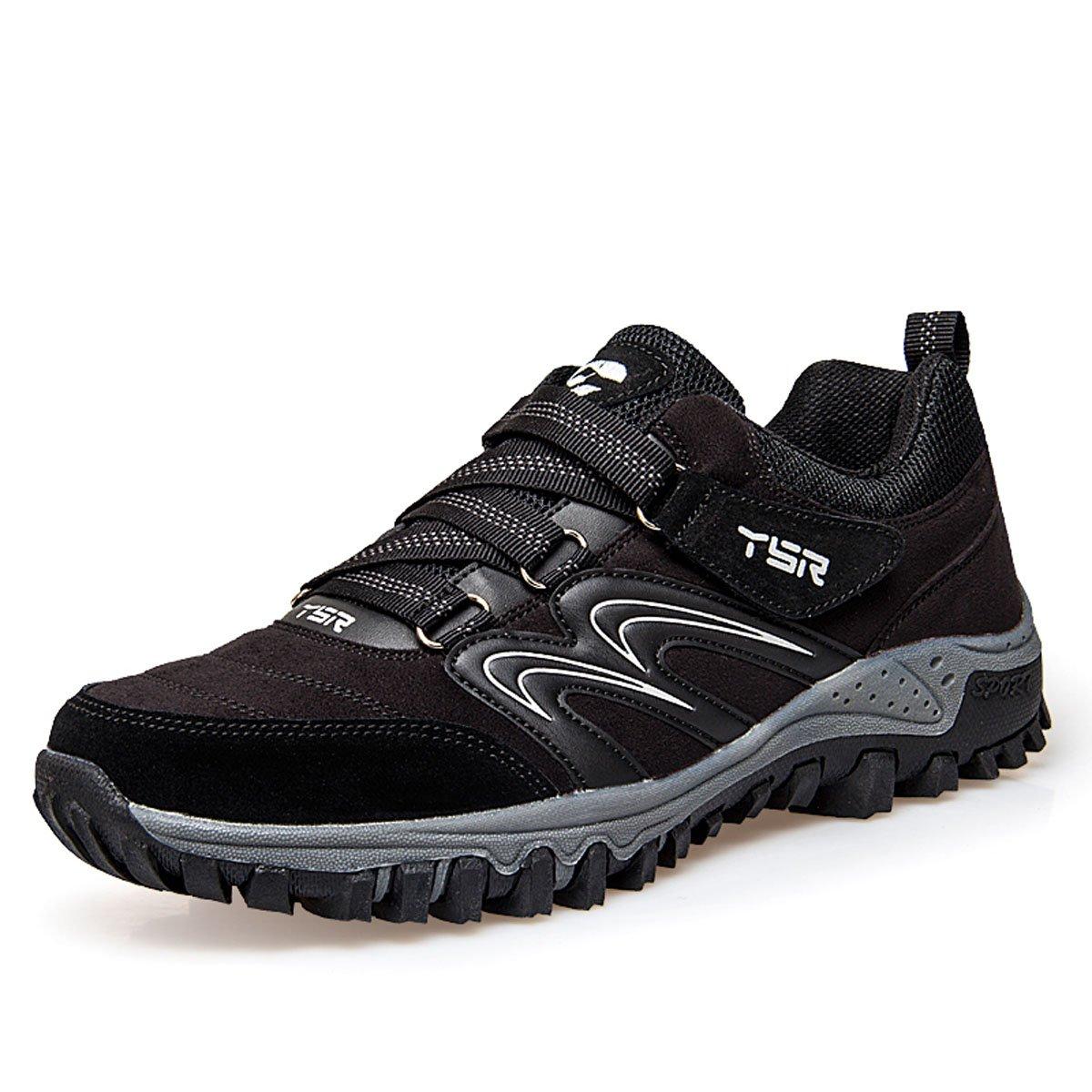 Gracosy Trekking-Schuhe, Wanderschuhe Herren Damen Turnschuhe Outdoor Hiking Turnschuhe Anti-Rutsche Laufschuhe Trailrunning Sportschuhe(Hersteller-Größentabelle im Bild Beachten)