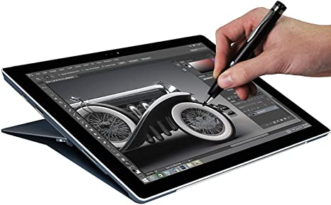 Broonel Grey Fine Point Digital Active Stylus Pen Compatible with The ASUS ZenBook 14 ASUS ZenBook 14 UM431DA