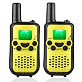 Amazon Price History for:Kids 2 Way Radio Walkie Talkies 22 Channel 2 Miles (up to 3.7 Miles) UHF Handheld Walkie Talkies for Kids Children Student Yellow