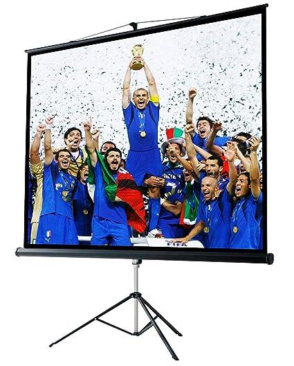 Provis - Pantalla proyector 114 Pulgadas 207 x 207 cm: Amazon.es ...