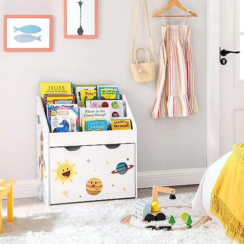 WERBUNG – SONGMICS Spielzeugregal – Was kostet ein gutes Bücherregal für Kinder?