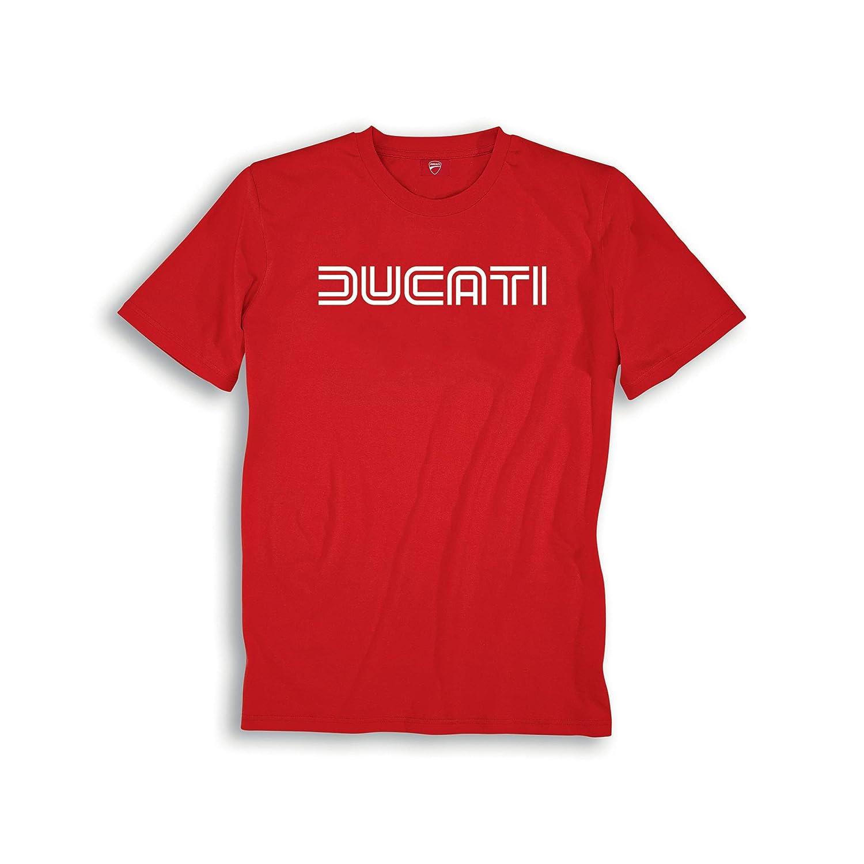 Ducati Ducatiana 80s Eighties Short Sleeve T-Shirt Black Medium