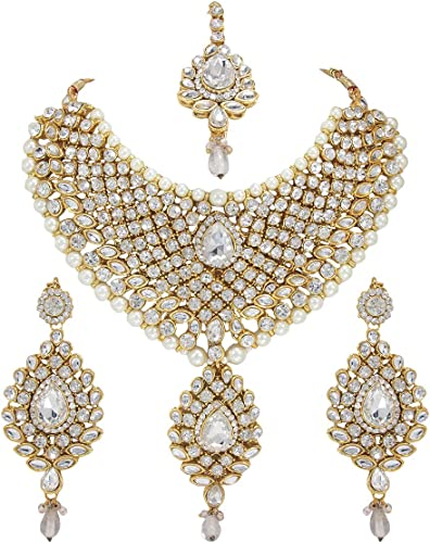 Amazon Com Crown Jewel Indian Bollywood Ethnic Wedding Bridal