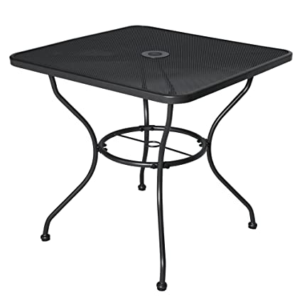 30 x 30 dining table rectangular dining furniture outdoor stell table patio dining 30quot coffee garden amazoncom 30