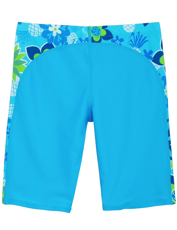 UPF 50+ Tuga Girls Two-Piece Short Sleeve Bathing Suit Set 2-14 Years
