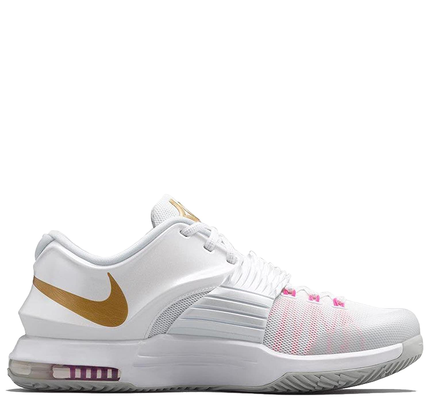 pretty nice e1c7b b243d Nike KD 7 PRM Aunt Pearl 706858-176 White: Buy Online at Low ...