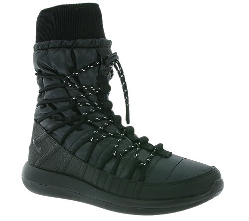 5a1da97e7905 Nike Roshe Two High Women s 861707-001 Black White Black White 8.5 B(M) US   Amazon.in  Shoes   Handbags