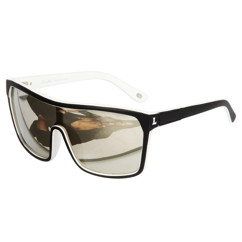 LianSan Drivers Oversized Sunglasses Mirrored lens for Men Women Glasses LS1012 LSP1012-1SR