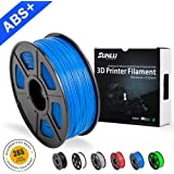 SUNLU ABS Plus Filaments for 3D Printer-Black ABS Filament 1.75 mm,Low Odor Dimensional Accuracy +/- 0.02 mm 3D Printing Filament,2.2 LBS (1KG) Spool 3D Printer Filament for 3D Printers & 3D Pens,Black