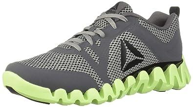 2b2b6785edf Reebok Men's Zig Evolution 2.0 Sneaker, Alloy/Flint Grey/Electric  Flash/Black