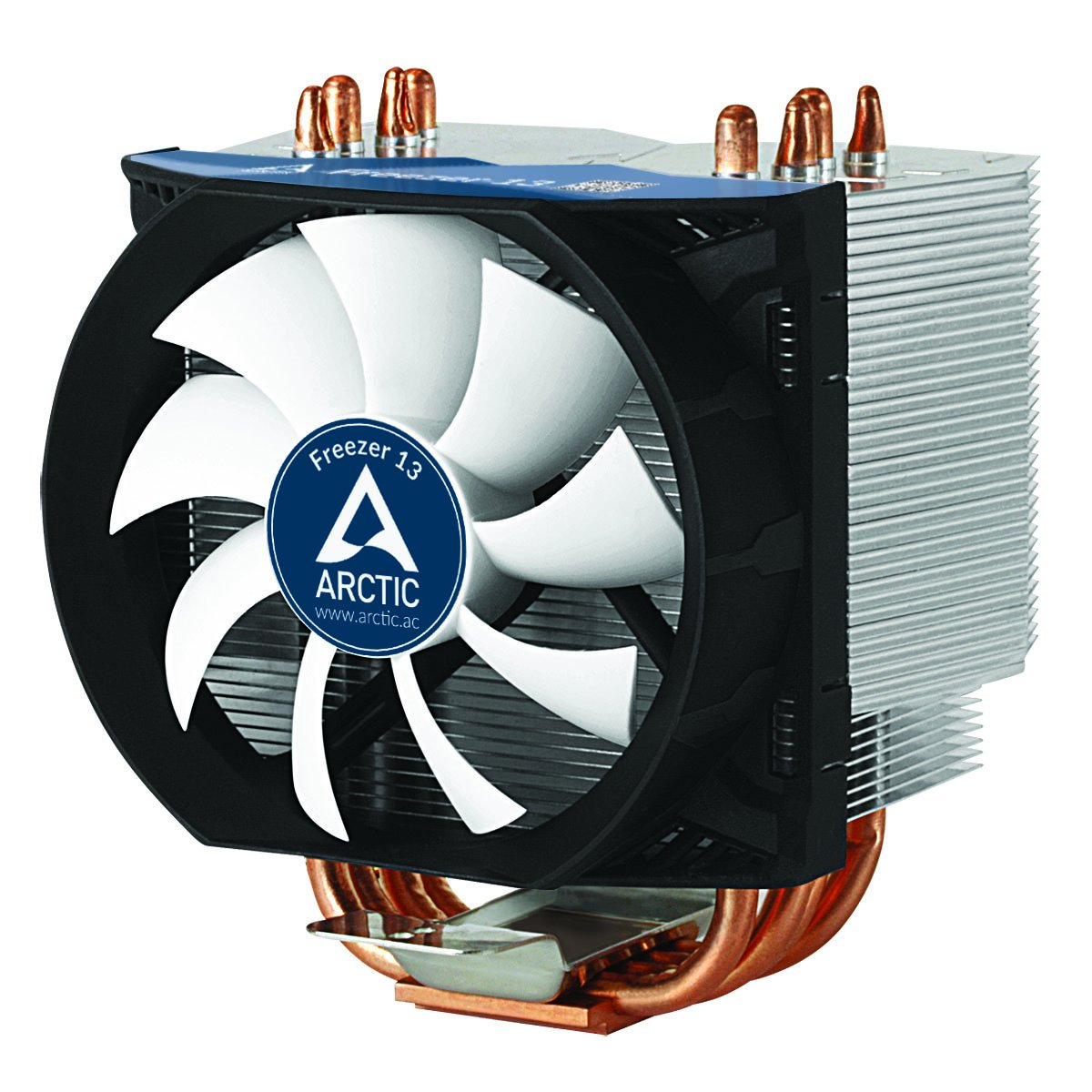 ARCTIC Freezer 13-200 Watt Multicompatible Low Noise CPU Cooler for AMD and Intel Sockets