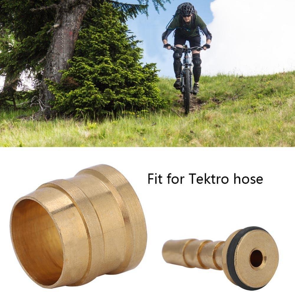 Hydraulic Disc Brake Hose Olive Connector Insert for AVID SRAM Tektro Bike 10Set