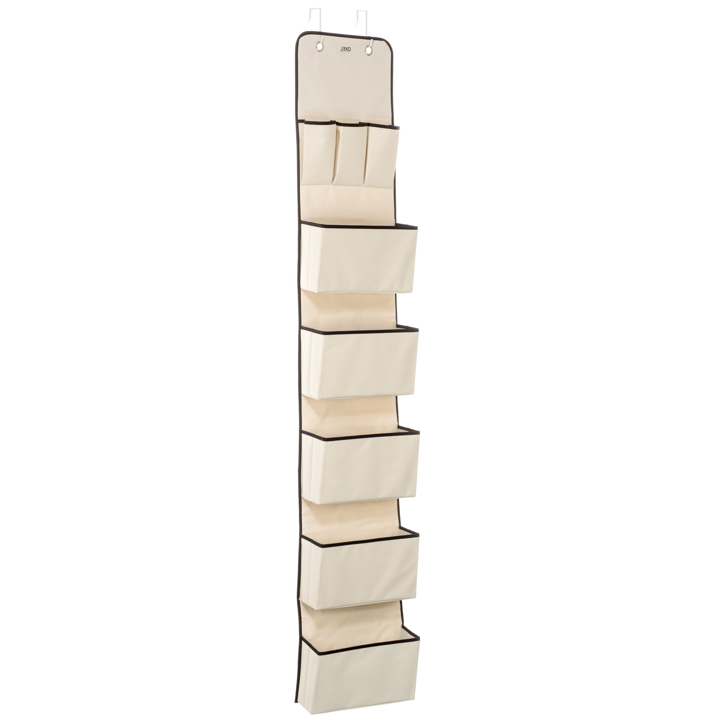 Amazoncom Over The Door Hanging Wall Organizer With 8 Pockets