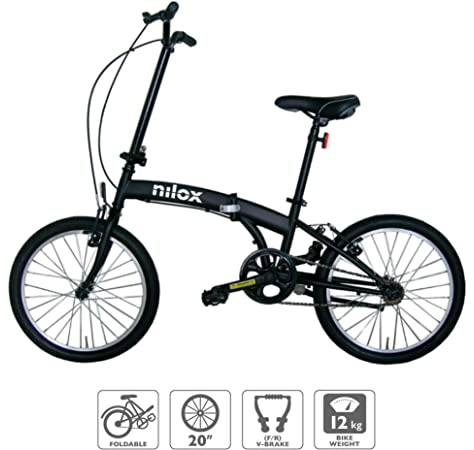 FabricBike Folding Bicicleta Plegable Cuadro Aluminio Ruedas 20