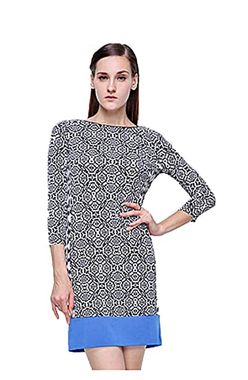 2 For 1 Clothes Fall Women High Neck Shift Dress Office Outfits With