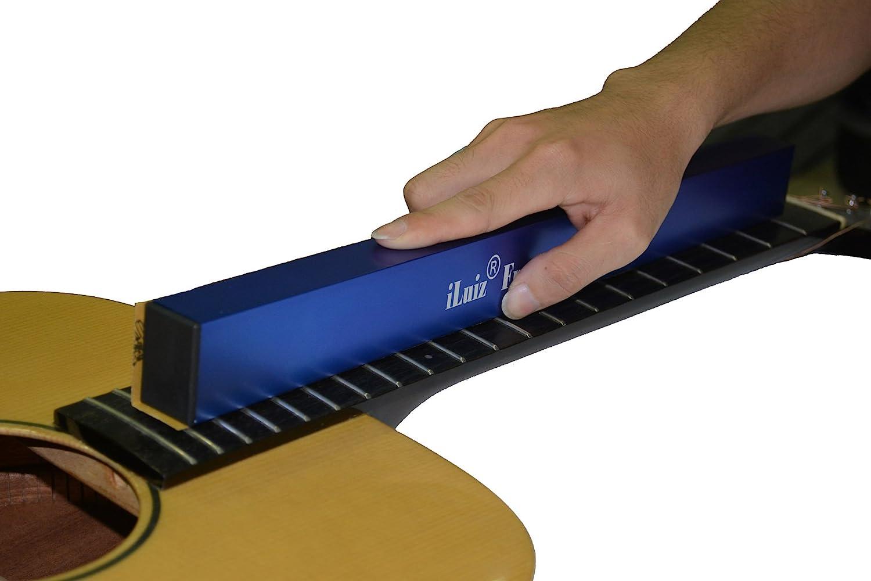 Herramienta de lijado iLuiz para nivelar trastes de guitarra (400 ...