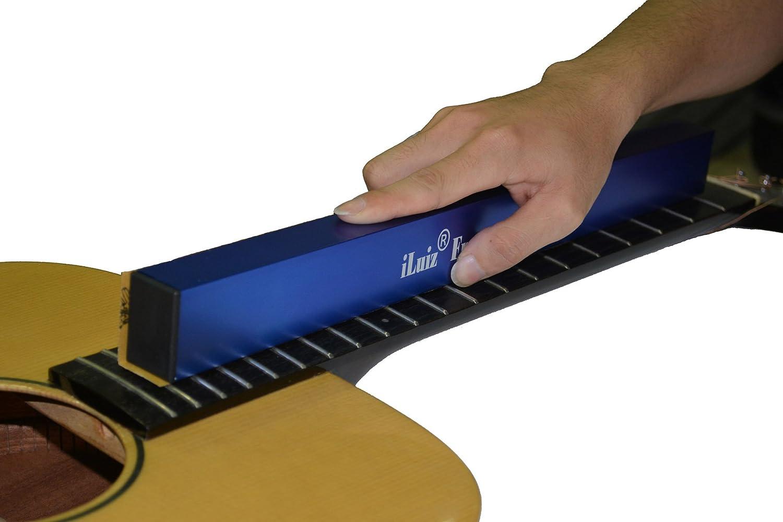 Iluiz chitarra fret livellamento abrasivi fascio basso livellatore livellamento file Tool Liutaio strumento 400mm Leomanor