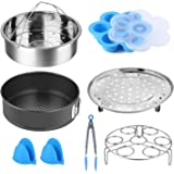 Cooker Accessories Set Compatible with Instant Pot 5,6,8 QT Electric Pressure Cookers Accessories (8 pcs Cooker Accessories S
