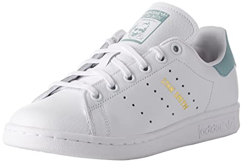 adidas Unisex Kinder Stan Smith J Sneakers, Elfenbein FTWR