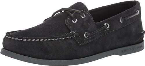 2-Eye Suede Boat Shoe
