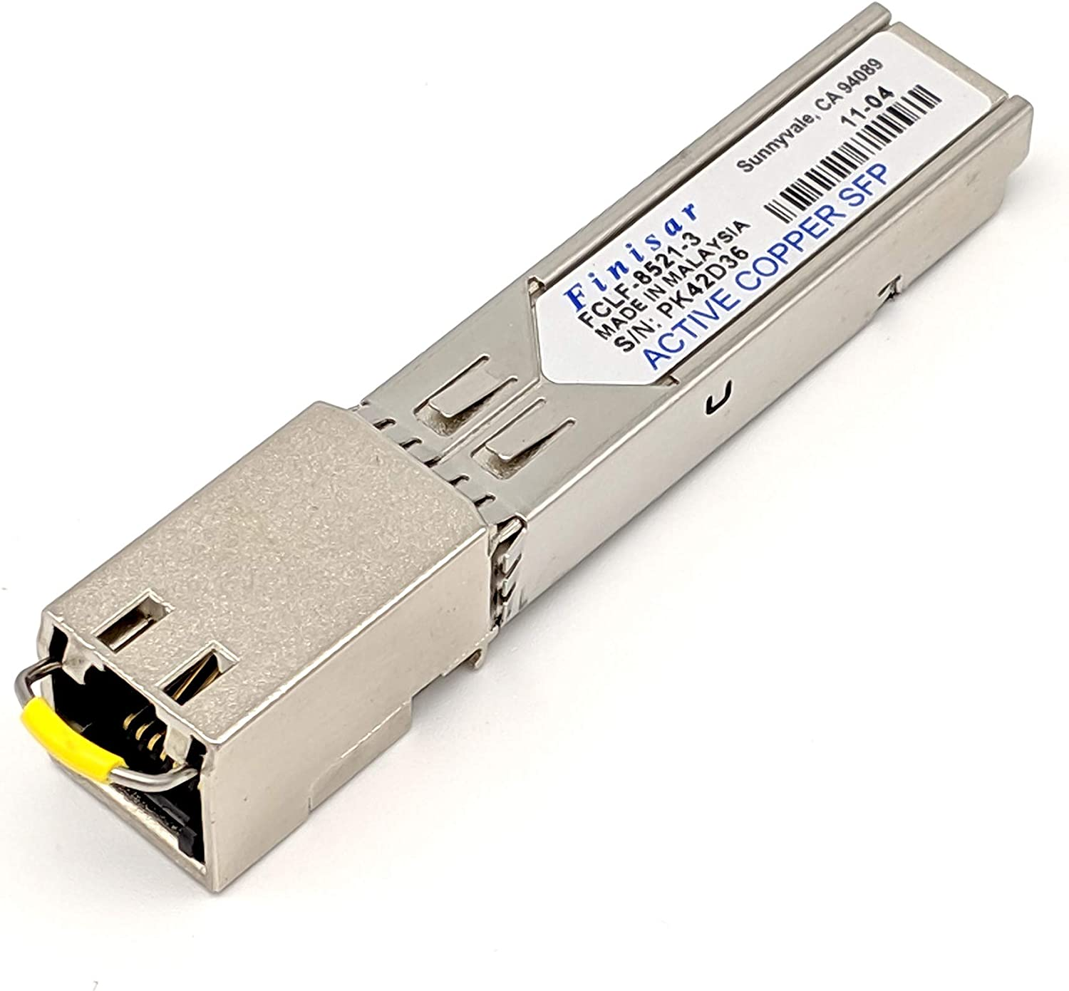 Amazon Com Finisar Fclf 8521 3 1000base T Sfp Transceiverrohs Compliant Computers Accessories