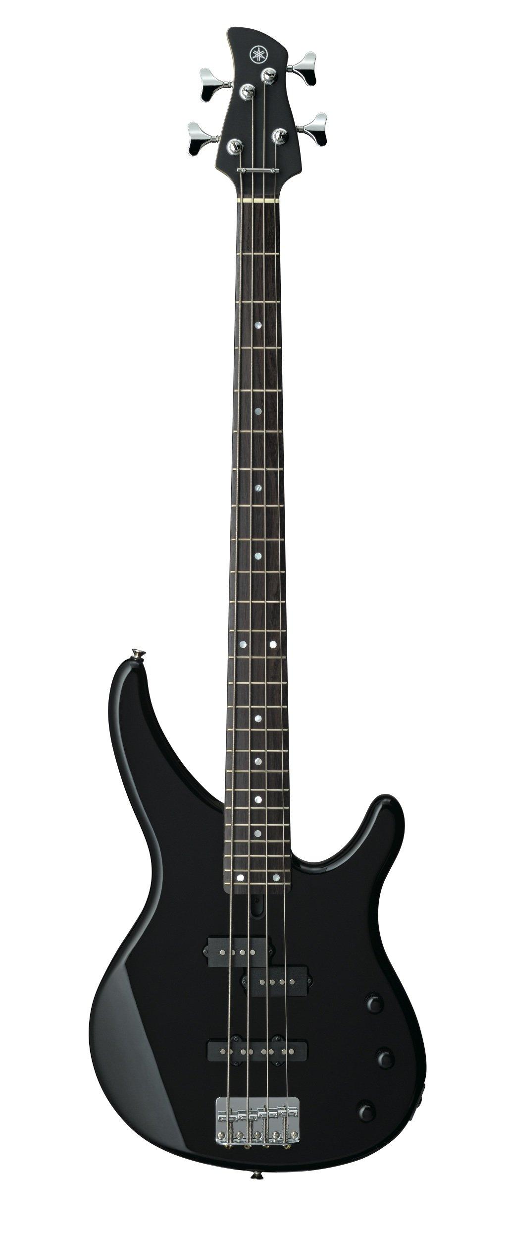 Yamaha 4-String Bass Guitar, Right Handed, Black, 4-String (TRBX174 BL) by YAMAHA