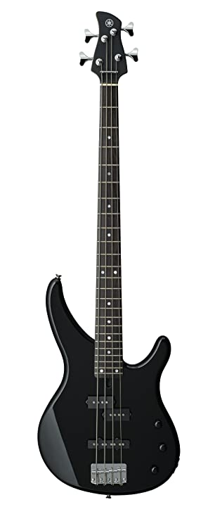 Amazon Com Yamaha 4 String Bass Guitar Right Handed Black 4