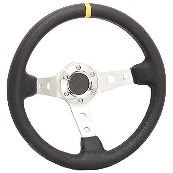 /Ändern Sie OMP Lenkrad PVC Leder Imitation Car Racing General Lenkrad Katurn Lenkrad