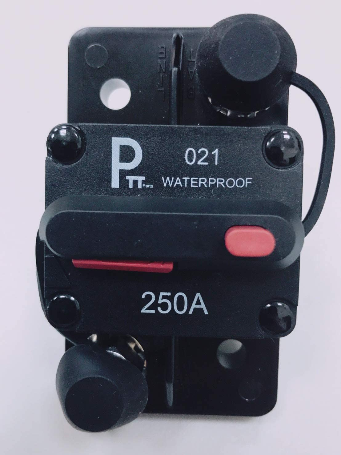 Water Proof Photo-Top 180A-250A Hi-Amp Circuit Breaker T4+Switch with Manual Reset