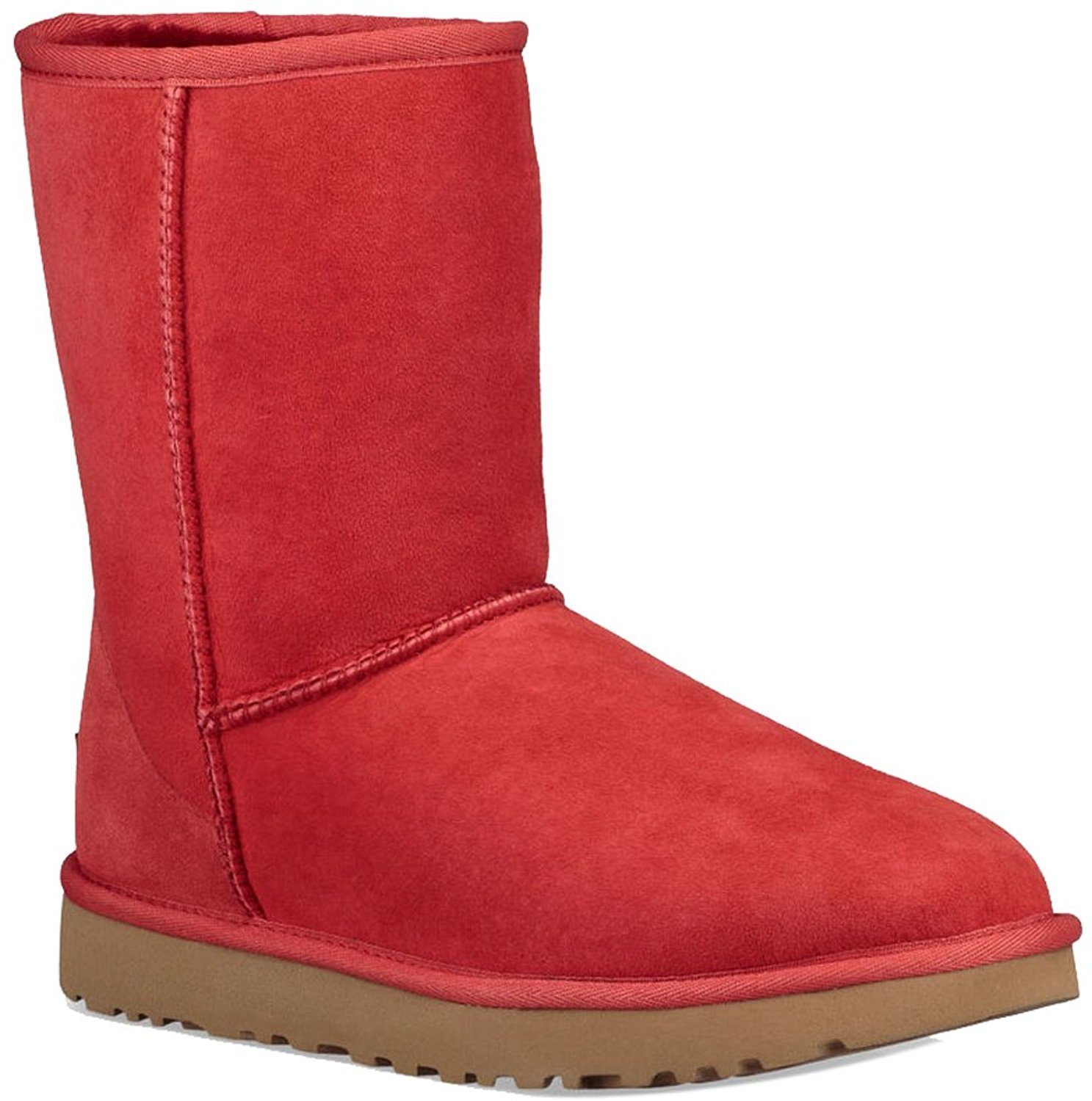 UGG Women's Classic Short II, Ribbon Red, 9 M US by UGG