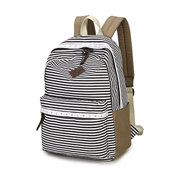 Mochilas escolares para adolescentes, bolsas de lona para libros, bolso de hombro, mochila