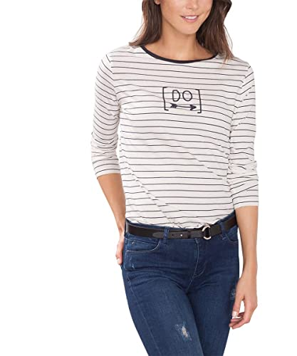 edc by Esprit 096Cc1K059, Camiseta de Manga Larga Para Mujer