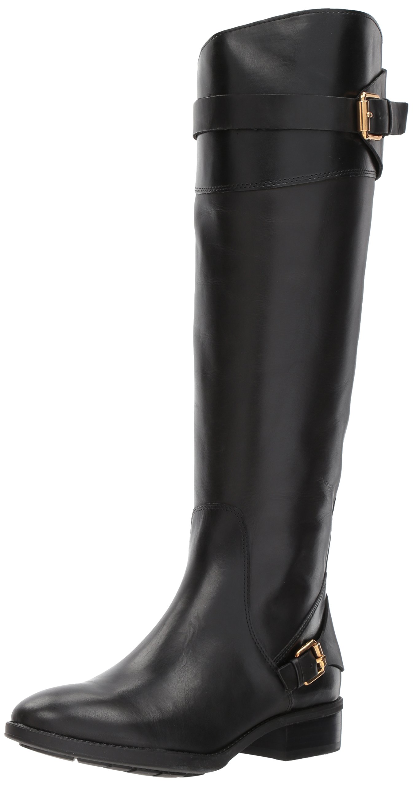 Sam Edelman Women's Portman Knee High Boot, Black, 9 Medium US