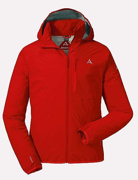 Schöffel Jacket Toronto2 Herren Hardshelljacke, wind und wasserdichte Herren Jacke mit verstaubarer Kapuze, atmungsaktive Regenjacke für Männer