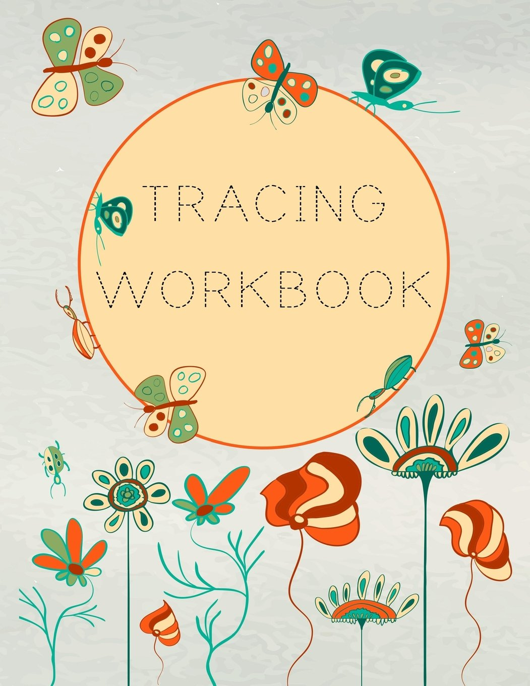 "Download Tracing Workbook: Letter Tracing Practice Book For Preschoolers, Kindergarten (Printing For Kids Ages 3-5)(1"" Lines, Dashed) pdf"