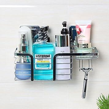 Duschzubehör lonior duschkorb duschablage ohne bohren selbstklebend duschkörbe