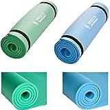 Hansson.Sports Yogamatte Gymnastikmatte Fitnessmatte von Premium Qualität, SGS-geprüft, 100% schadstofffrei, Größe: 180 x 60 x 1,2 cm, mit Tragegurte, verschiedene Farben
