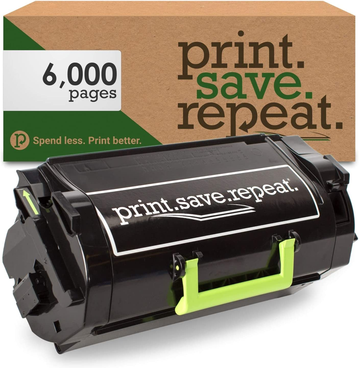 Dell T6J1J Remanufactured Toner Cartridge for B5460 Print.Save.Repeat B5465 6,000 Pages