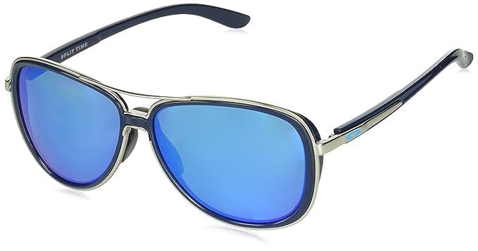 Oakley Split Time 412907, Gafas de Sol para Mujer, Azul (Navy), 58: Amazon.es: Ropa y accesorios