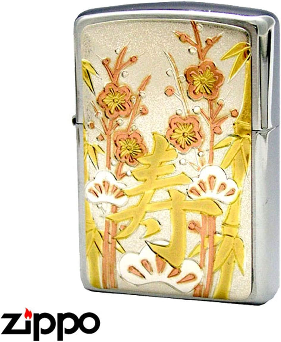 ZIPPO ジッポ ジッポー ライター 伝統工芸彫金漢字寿