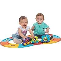 Brinquedo para Bebe Babytrain Express com 12 Trilhos Merco Toys