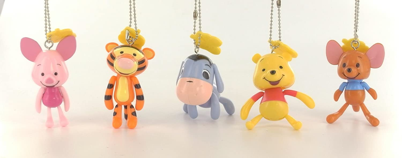 Winnie Pooh Disney Figuras Llaveros Colección Completa ...