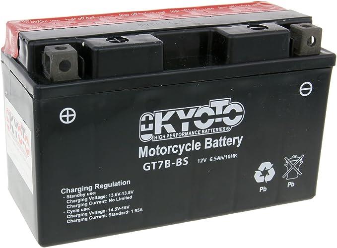 Batterie Kyoto 12v Gt7b Bs Mf Wartungsfrei Verkaufspreis Inklusive 7 50 Eur Gesetzlicher Batteriepfand Auto