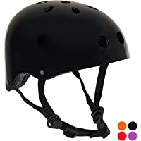 PedalPro Gloss BMX Bicycle Helmet - Choice of Colour & Size