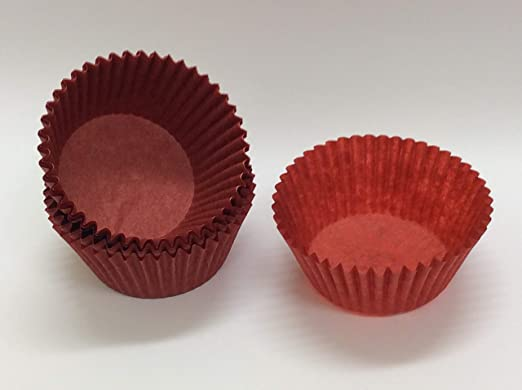 500PC Mini Chocalate Paper Liners Baking Cupcake Cases Muffin Cake SolidColor WN