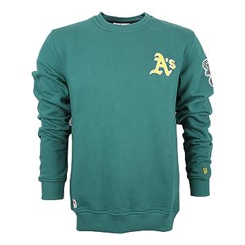 new styles 4ce64 01a6f New Era Ne92238Fa16 Mlb Crew Neck Oakath - Sweatshirt - Line ...