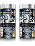 MuscleTech Plasma Muscle, Most Powerful Pre-Workout and Lean Musclebuilding Pill, 2-pack, 168 Rapid-Release Liquid Caps (2)