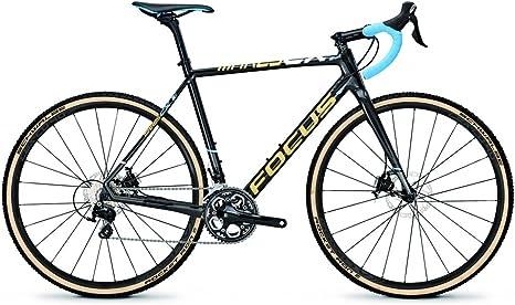 Focus Cyclocross Road Bike Mares CX 105 22 velocidades Shimano Carbon, Carbon/LiteBlue(Cream): Amazon.es: Deportes y aire libre