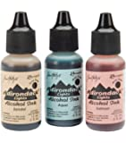 Ranger Adirondack Lights Alcohol Ink 1/2-Ounce 3/Pkg, Lakeshore