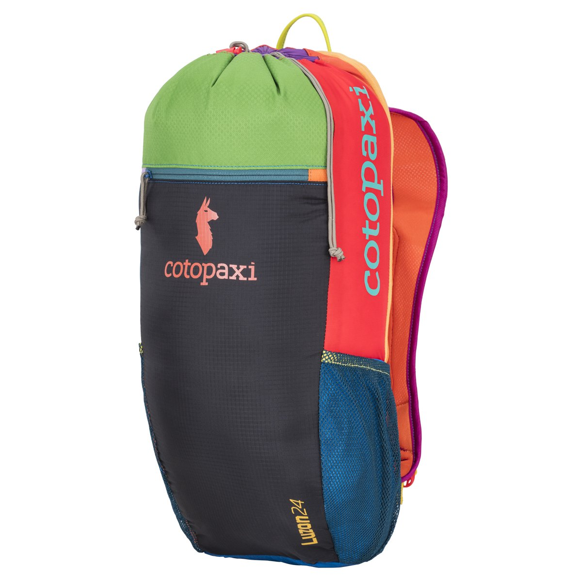 Cotopaxi Luzon 24L - DEL DIA (One of a Kind) - Durable Lightweight Nylon Hiking Packable Daypack Backpack hot sale